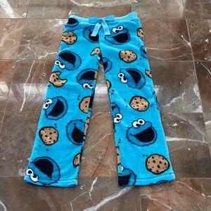 Women's Cookie Monster Pajama Pants
